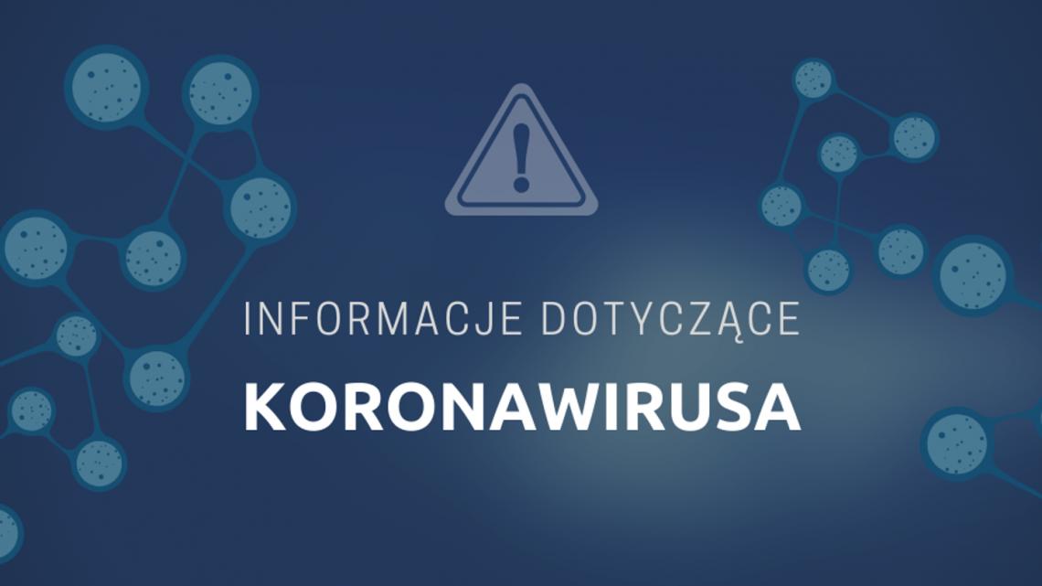 grafika koronawirus informacje
