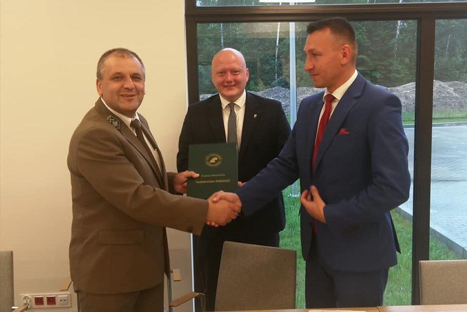 Dofinansowanie przez Lasy Państwowe przebudowy drogi powiatowej relacji Głowaczów - Lipskie Budy