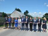 Uroczyste otwarcie drogi powiatowej relacji Stara Błotnica - Jedlanka