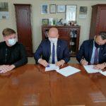 Obraz z podpisania umowy